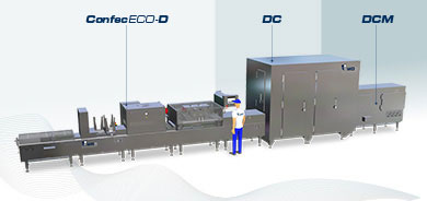 modularly designed manufacturing plant